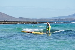Surfen mit dem Raceboard